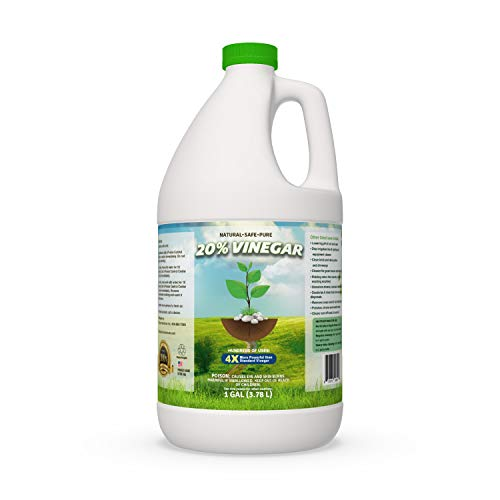 Pure 20% Vinegar - Home&Garden 1 Gallon (Packaging May Vary) (Using Vinegar To Kill Weeds In Driveway)