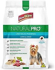Ração Baw Waw Natural Pro para cães raças pequenas sabor Carne e Arroz - 6kg