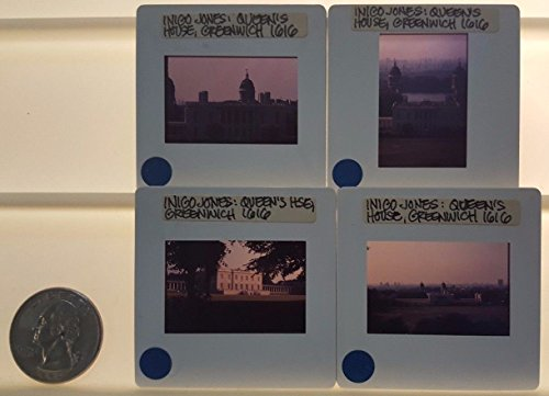 4 QUEENS HOUSE Architecture 35mm Picture Slides in - In Stores Greenwich