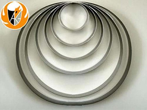 One - 12 Inch Stainless Steel Casting Ring - Used for Fusing Glass Screen Melt