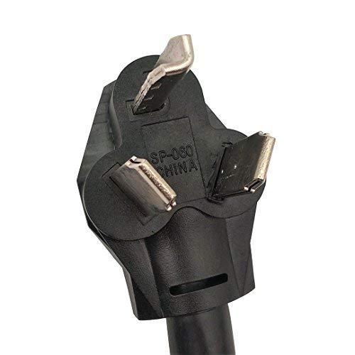 Parkworld 60011 Adapter Cord NEMA 10-30P Male to Dryer 14-30R Female, 30A, 125V/250V, 1.5'