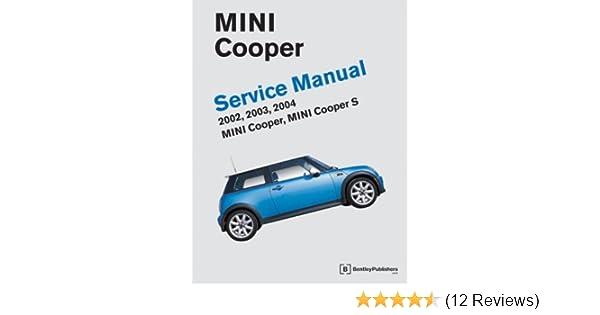 bentley mini cooper service manual download