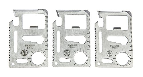 SE 11 Function Stainless Steel Survival Pocket Tool