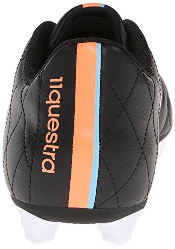 Adidas Performance Mens 11questra Tacchetti Da Calcio Per Terreni Duri Nero / Bianco / Arancione Lampeggiante