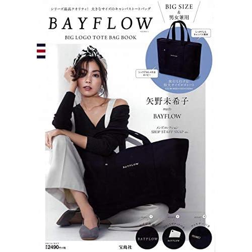 BAYFLOW BIG LOGO TOTE BAG BOOK 画像
