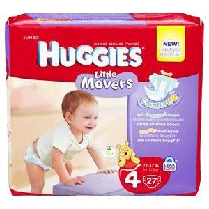 HUGGIES Supreme Little Movers Step 4, Big Pack