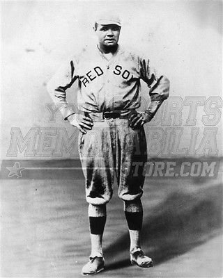 Babe Ruth Boston Red Sox uniform 8x10 11x14 16x20 photo 066 - Size 11x14 d92253dcd10