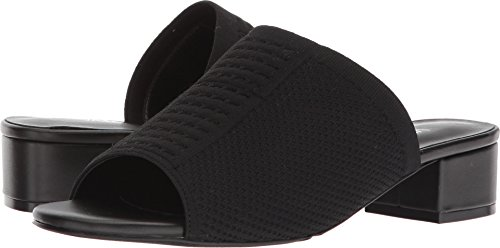 VANELi Women's Harma Black Stretch/Black Nappa 10 AA US (Nappa Stretch Footwear)