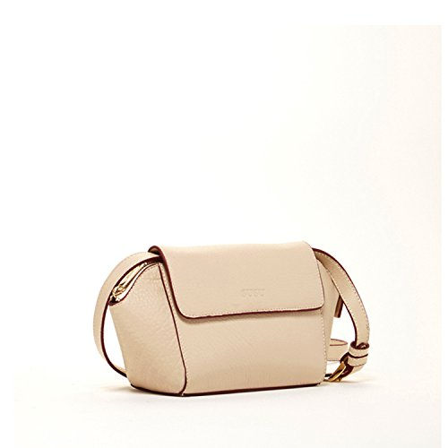 Leather with Crossbody Ivory Victoria Mini Flap SUSU The PwqgXTt