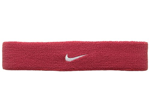 Away Headband - Nike Dri-Fit Home & Away Headband (One Size Fits Most, Varsity Red/White)