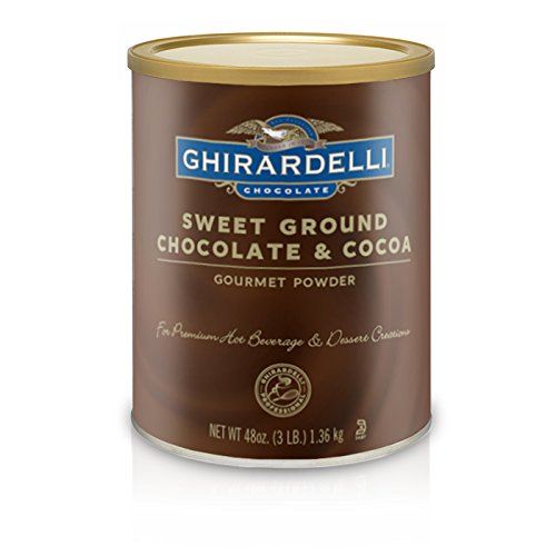 Ghirardelli Chocolate Sweet Ground Chocolate & Cocoa Beverage Mix, 10-Pound Package