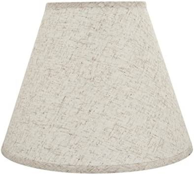 Aspen Creative 32291 Transitional Hardback Empire Shaped Spider Construction Lamp Shade in Flaxen, 14 Wide 7 x 14 x 11