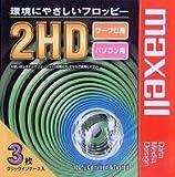 maxell 3.5FD アンフォーマット3P [MFHDC3P]