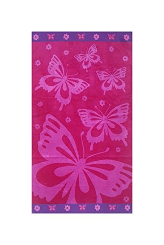 Maghso 100% Egyptian Cotton Luxury Oversized Butterfly Pool/Beach Towel, 70