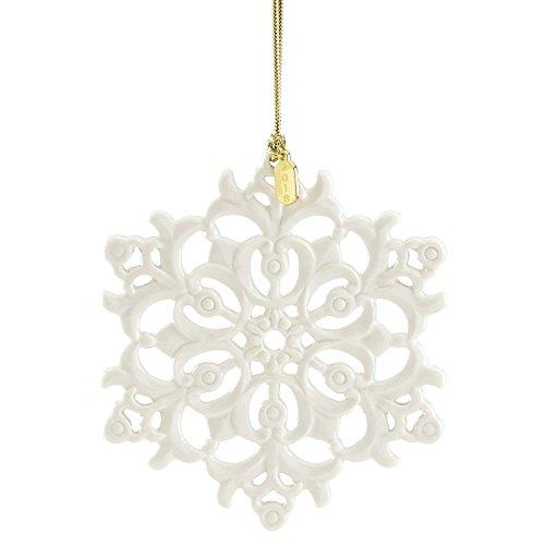 Lenox 2018 Snow Fantasies Snowflake Ornament