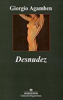Desnudez par Agamben