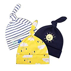 WHY CHOOSE YICHAOYILIANG NEWBORN HATS? --The YICHAOYILIANG caps create bright and colorful designs for kids' products. Our goods are made of high quality fabric that we create to make our children look stylish and fun. It is particularly good...