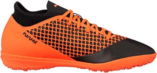 Black Puma Noir 02 Future Puma de 4 Chaussures Football 2 Homme shocking TT Orange Bvx1Bfq