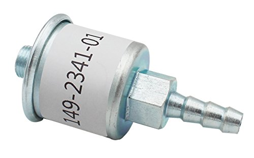 Replacement RV Fuel Filter/Pump for Cummins Onan OEM# 149-2341-01, Fits Marquis Gold HGJAB, Emerald Advantage HGJAC, Marquis BGM & NHM Gasoline Generators, and Marquis Gold/RV QG, Marquis Platinum/RV by FlyingAMZ