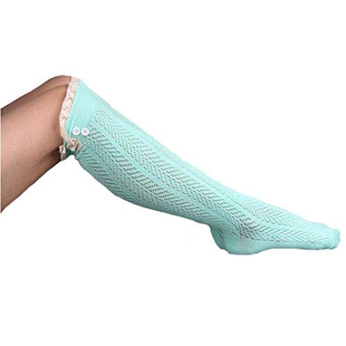 Womens Winter Stockings, Egmy Newest Women Socks Straight Tube Stockings Set Green