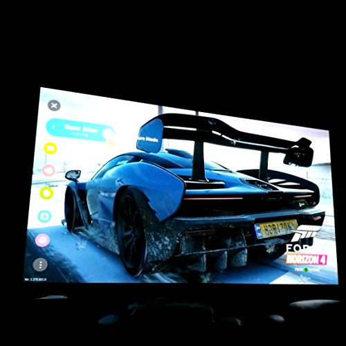VIVIBRIGHT F40 Full HD Beamer, Native 1080P Projektor, Video Beamer mit 4800 Lumen LED-Helligkeit, geeignet für Heimkino-Unterhaltung und Business, 300 Zoll für PC / TV-Box / Laptop / PS4 / PPT