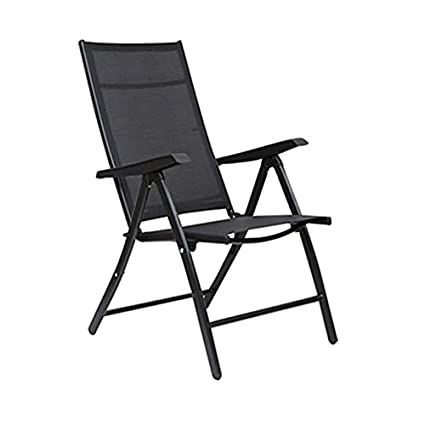 Superb Hometown Jet Mild Steel With Fabric Folding Chair In Black Color Beatyapartments Chair Design Images Beatyapartmentscom
