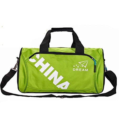 Classicalスポーツバッグジムスポーツダッフルバッグ旅行荷物用バッグ、ジム、ハワイアン、D