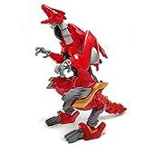 moonio Raptor Dinosaurs Age Motobots Jurassic Transformer Robot Toy (Raptor Motobots)