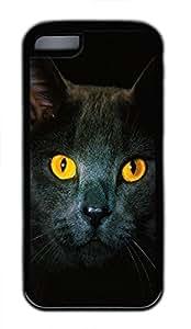 iPhone 5c case, Cute Golden Eyes iPhone 5c Cover, iPhone 5c Cases, Soft Black iPhone 5c Covers by icecream design