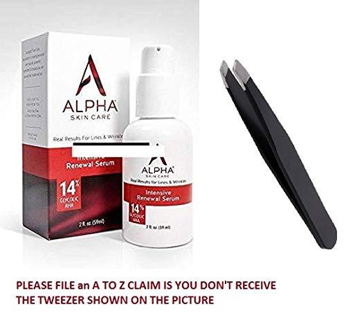 Alpha Skin Care Hydrox Intensive Serum 14% Glycolic AHA 2 oz/59ml (Alpha Hydrox Aha Souffle 12 Glycolic Aha)