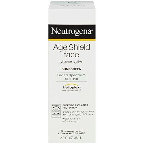 Neutrogena Age Shield Face Lotion Sunscreen Broad Spectrum Spf 110 - 5