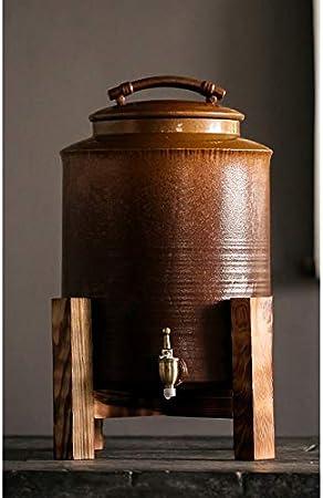 Ashtray Horno de cerámica esmaltado Viejo Cilindro de Barro de ...