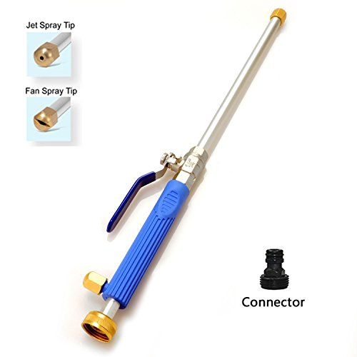 Windaze Pressure Power Washer Spray Nozzle,Garden Hose Wand for Car Washing and High Outdoor Window Washing (Outdoor Power Washer)