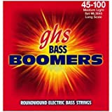 GHS Strings Electric Bass Boomer Set (Medium Light Nickel Steel, 4-String, Long Scale)