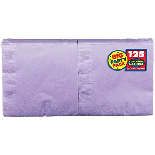 Lavender, Big Party Pack, 2-Ply Luncheon Napkins, 125 Per Pack ()
