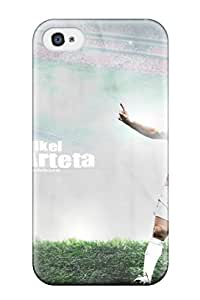 For Iphone 4/4s Protector Case Mikel Arteta Phone Cover