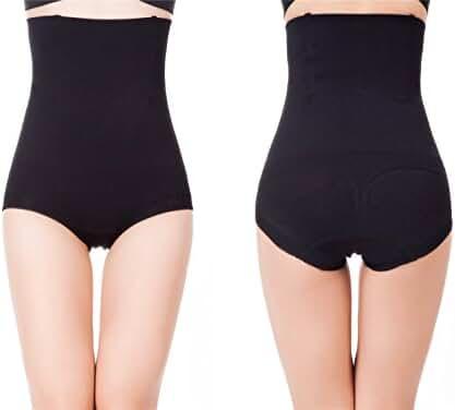 Womens Shapewear Panties High Waist Brief Tummy Control Butt Lifter Panty Shaper