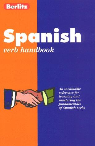 Berlitz Spanish Verbs Handbook  Berlitz Handbook Australia