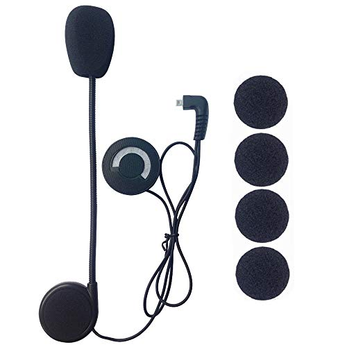 FreedConn Microphone Headphone Speaker Hard Cable Headset Accessory for...