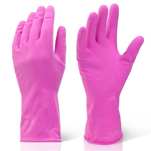 10 Pairs Of Medium Red /& Black Slim Fitting Natural Rubber Latex Grip Coated Work Safety Gloves With Breathable Backing Comes With TCH Anti-Bacterial Pen!