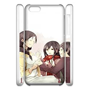 39 iphone 5c Cell Phone Case 3D Attack On Titan 91INA91392800