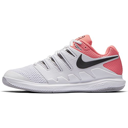 Nike Womens Zoom Vapor X Tennis Shoes Vasto Grigio / Nero