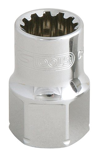 KS Tools 916.4067  TRIPLEplus go-through socket, 19mm, 17mm 4042146111468