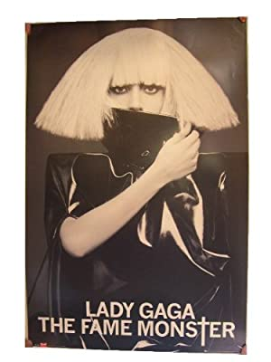 Lady Gaga Poster The Fame Monster Commercial