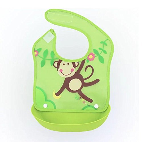 coffled-baby-bpa-free-silicone-bucket-bib-food-catcher-easily-wipe-with-fabric-removable-neck-attach