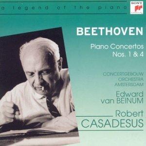 Bildergebnis für robert casadesus beethoven klavierkonzerte 1 & 4