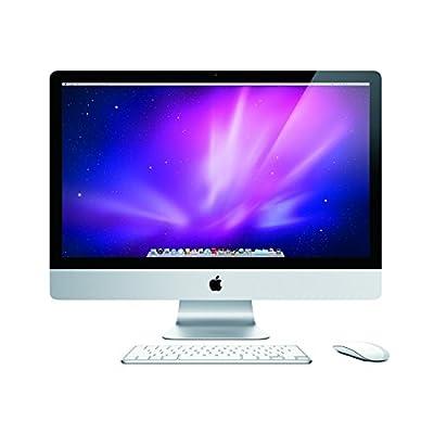 "Apple MC511LL/A Intel Core i5-760 X4 2.8GHz 4GB 1TB 27"",Silver(Refurbished)"