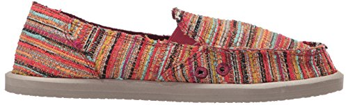 Women's Boho Donna Boho Sanuk on Red Slip Loafer Puma F6dqEwnq