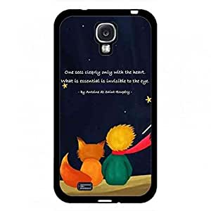 The Little Prince Phone Funda Cover For Samsung Galaxy S4 Hard Funda BMW019