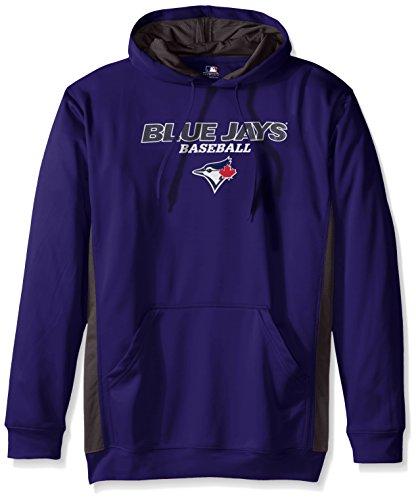MLB Toronto Blue Jays Men's Fleece Hood, 3X, Royal/ Storm Grey – Sports Center Store